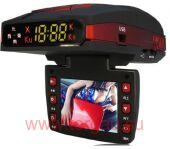 Conqueror Car Black Box 1380H (Видеорегистратор Full HD, GPS + Антирадар)